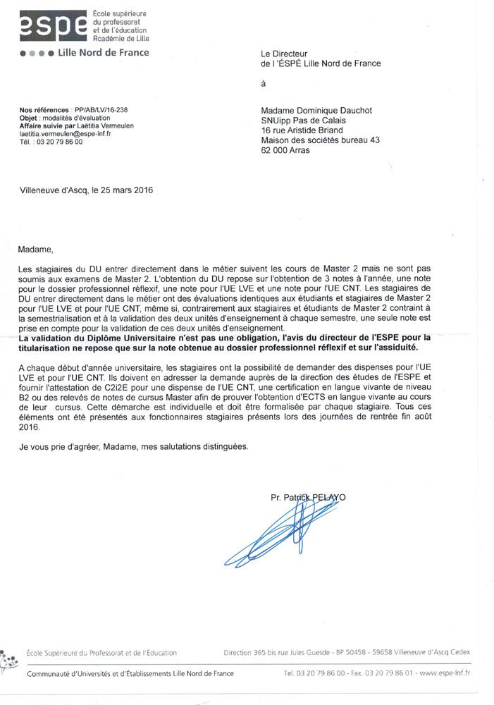 Snuipp Fsu 62 Modalites D Evaluation Des Du Concernant La Lve Et